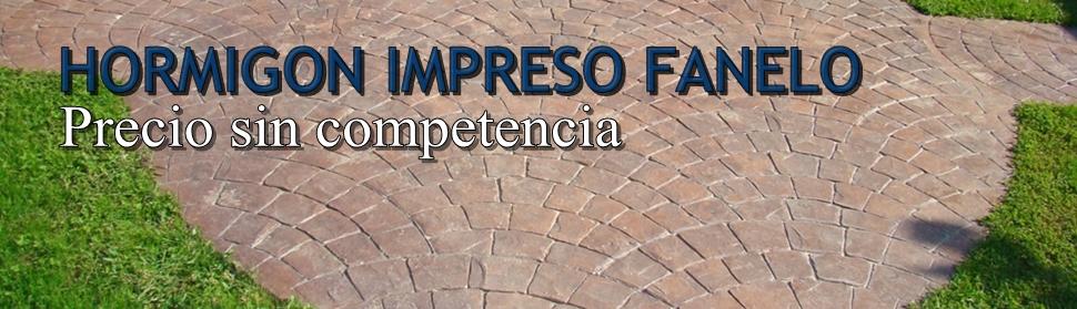 HORMIGON IMPRESO FANELO